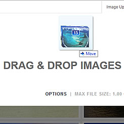 Drag & Drop Upload