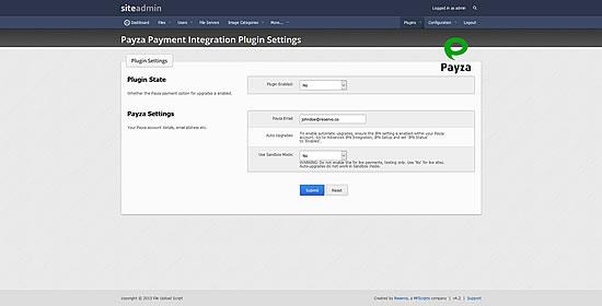 Payza Payment Gateway Plugin