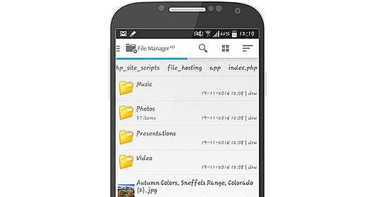 Web Dav Mobile