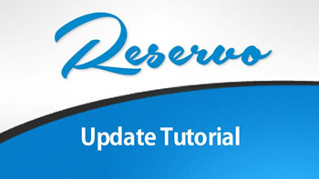 Reservo Update Tutorial