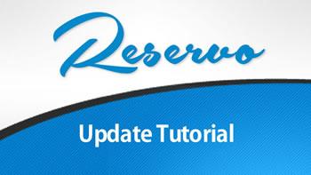 Reservo Update Tutorial